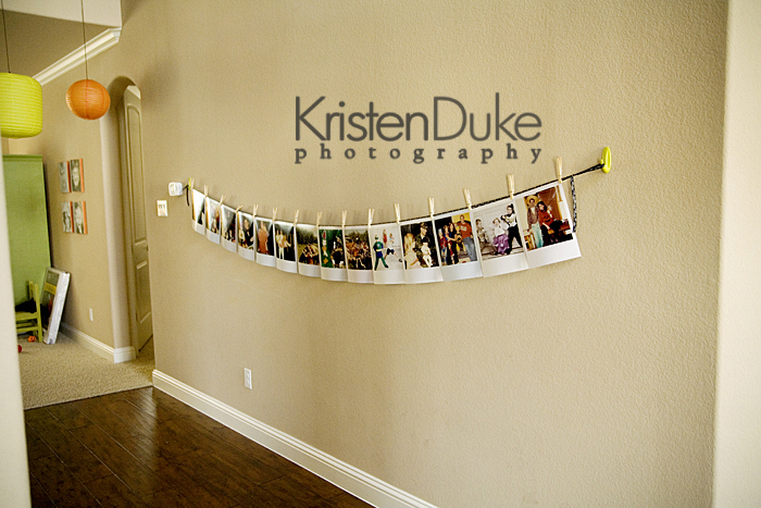 Decorating With PortraitsImitation Polaroids