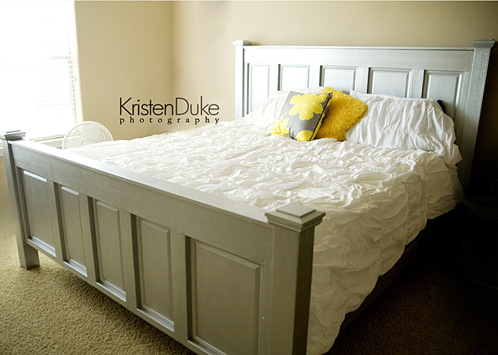 Our Homemade Bed Capturing Joy With Kristen Duke