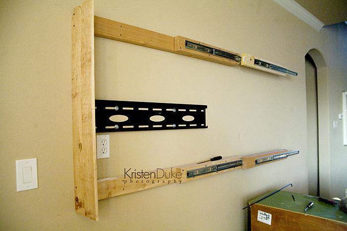 sliding barn door tv cover tutorial. Black Bedroom Furniture Sets. Home Design Ideas