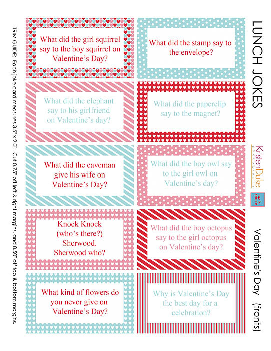 Valentine\'s Day Jokes - Printable Valentine Jokes for Kids