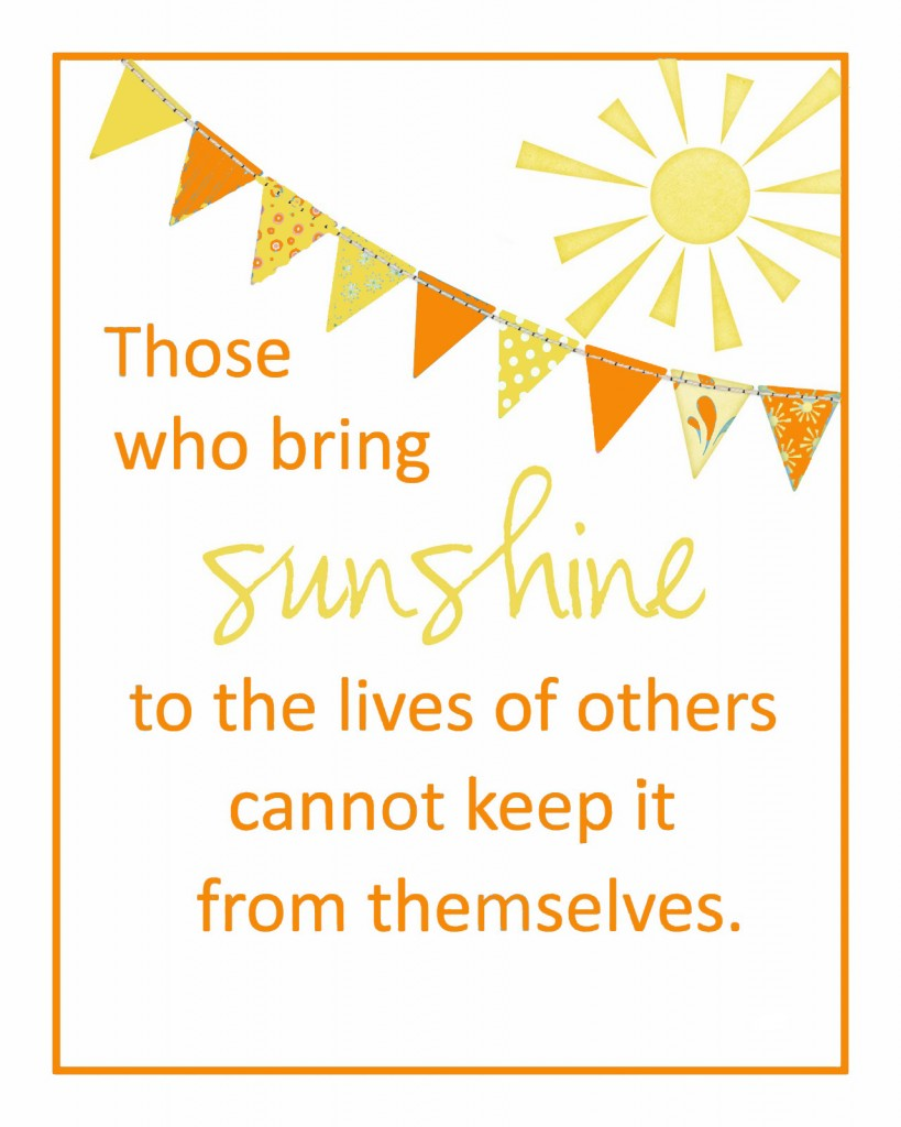 Sunshine Quotes. QuotesGram