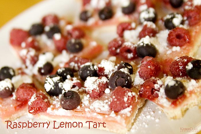 Raspberry Lemon Squares