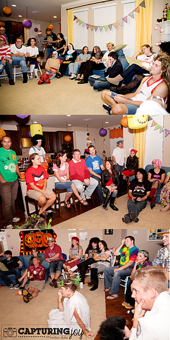 adult halloween party games