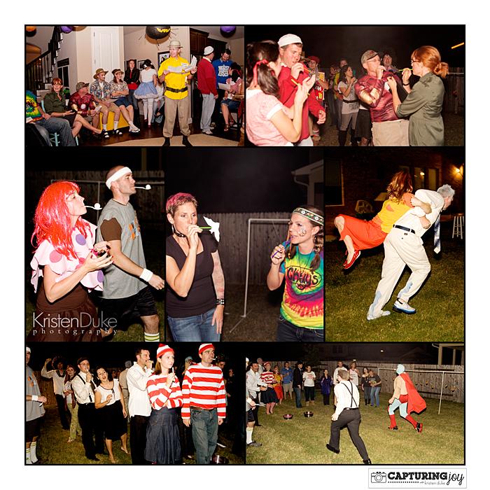 outdoor halloween party games
